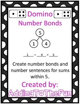 1-5 Domino Number Bonds & Addition