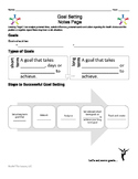 1.5 Goal Setting PowerPoint Notes Pages