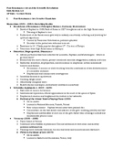 1.5 Post Renaissance Art and Scientific Revolution - Instructor Lecture Notes
