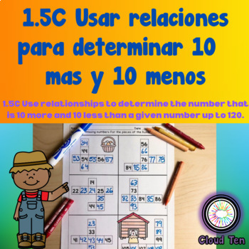 1.5C Usar relaciones para determinar 10 más y 10 menos  ESPAÑOL