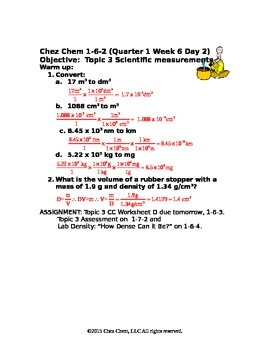 1-6-2 Quarter 1 Week 6 Day 2 answers