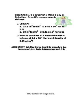 1-6-3 Quarter 1 Week 6 Day 3