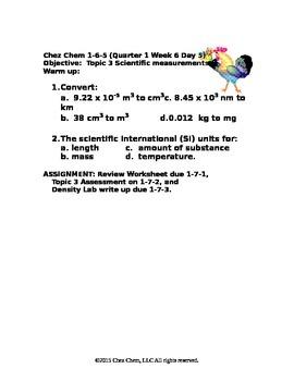 1-6-5 Quarter 1 Week 6 Day 5