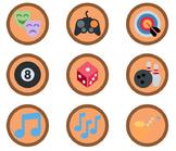 3,360 Bronze Emoji Badges