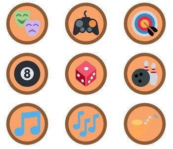 1,653 Bronze Emoji Badges
