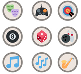 3,360 Silver Emoji Badges