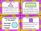 1.6D: Identify 2D Shapes TEKS Aligned Task Cards! (Grade 1 Math)