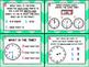 1.7E: Telling Time TEKS Aligned Task Cards! (Grade 1)