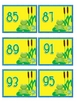 1-99 odd number counting cards