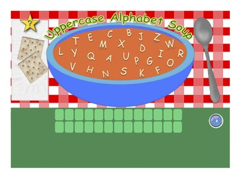 Alphabet Soup & Number Soup  - Letter & Number Recognition