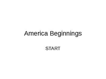 1 America Beginnings