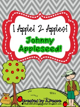 1 Apple, 2 Apples, Johnny Appleseed Math Unit