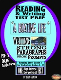 "SBAC Reading & Writing Test Prep & Guide ~1 Article ""A Boating Life""~"