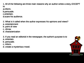 1 - Author's Purpose PowerPoint Lesson