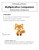 1. Basics of Multiplicative Comparison: Interactive Notes