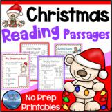 1 Christmas Activities: Christmas Reading Comprehension Pa