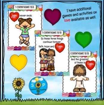 1 Corinthians 13 Love Chapter Scripture Cards
