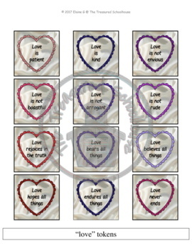 1 Corinthians 13 - Love Is.... Game