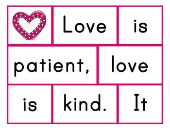 1 Corinthians 13 Memory Work Pack: What is Love