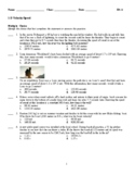 1-D Motion -  Speed and Acceleration Problems