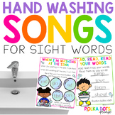 Hand Washing Songs for Sight Words