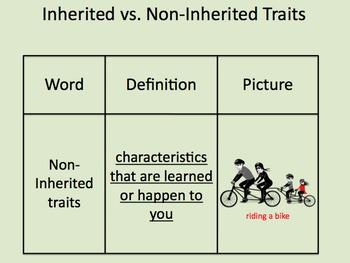 1-Day Inherited vs. Non-inherited