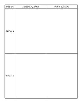 1-Digit Divisor Division Practice