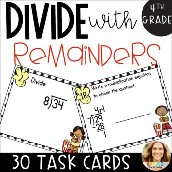 1-Digit Quotient: Dividing with Remainder