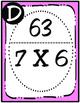 1-Digit X 1-Digit Multiplication Scavenger Hunt (TEKS 3.4F)