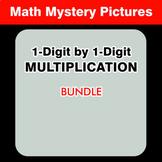 1-Digit by 1-Digit Multiplication - Math Coloring Workshee