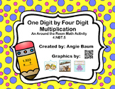 1-Digit by 4-Digit Multiplication Scoot