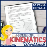 1-Dimensional Kinematics Workbook | Physics Workbook for One Dimensional Motion