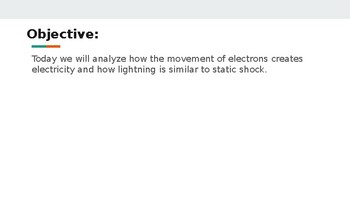 1 Electricity Notes and Activity
