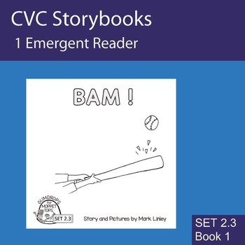 1 Emergent Reader ~ SET 2.3 Book 1 ~ BAM