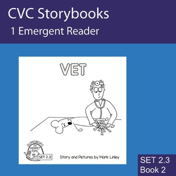 1 Emergent Reader ~ SET 2.3 Book 2 ~ VET