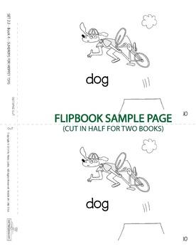 1 Emergent Reader ~ SET 2.3 Book 4 ~ TOP DOG