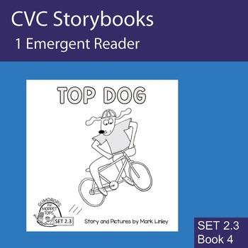 1 Emergent Reader - Set 2_3_4 - TOP DOG