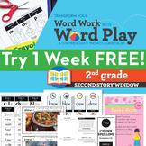 1 FREE Week 2nd Grade Phonics & Chunk Spelling Curriculum