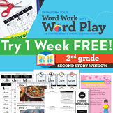 1 FREE Week 2nd Grade Phonics & Chunk Spelling Curriculum