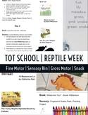 1 FULL WEEK of REPTILES   Tot School   Pre-K PreSchool Tea
