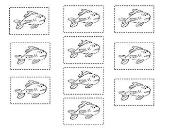 1 Fish 2 Fish Addition Project--FREE