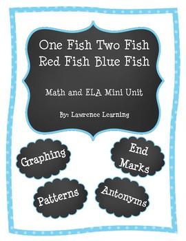 1 Fish 2 Fish ELA and Math Mini Unit