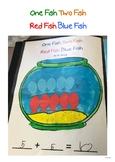 1 Fish, 2 Fish, Red Fish, Blue Fish - Addition Sheet