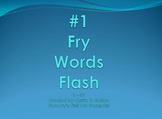 #1 Fry Words Flash PowerPoint Slideshow SMARTBoard