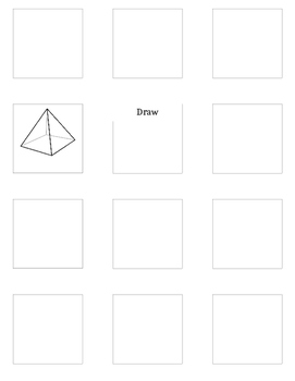 1.G.1  1.G.2 Draw, Name, Locate 2D and 3D shapes