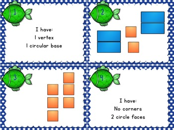 1.G.2 Task Cards Geometry Composing 3d Shapes