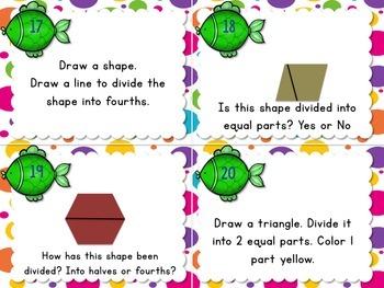 1.G Task Cards Geometry BUNDLE VALUE