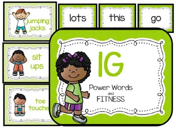 1 Green Power Words and Fitness