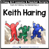 2 Keith Haring: Easy Famous Artists Lessons (from Art History for Elementary 2)