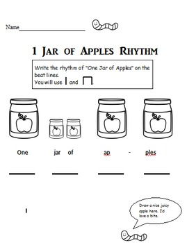 1 Jar of Apples